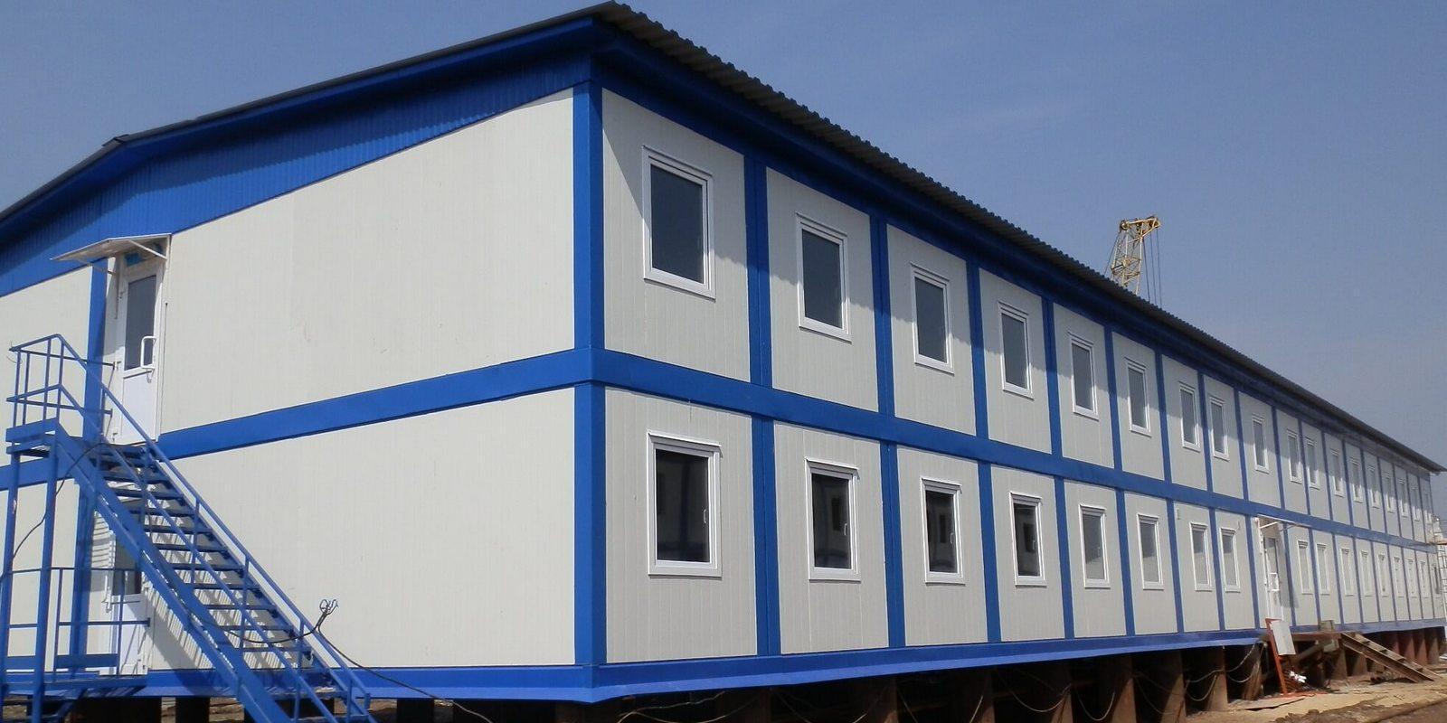 Фото. Строительство административных зданий